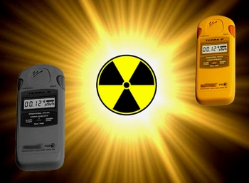 Radiation level dosimeters / Geiger counters